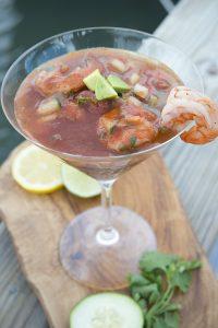 Bloody Mary Shrimp Ceviche Recipe